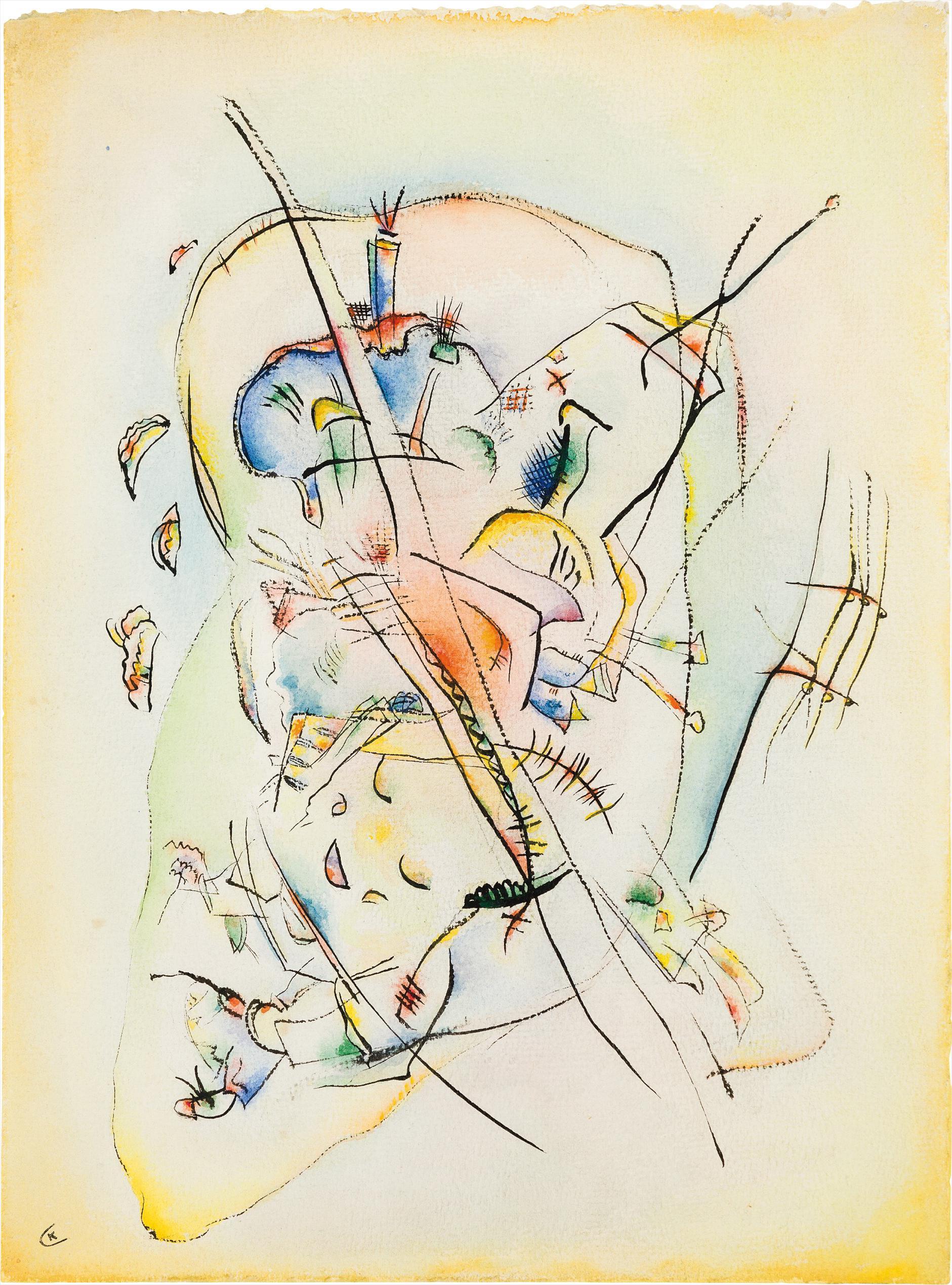 Wassily Kandinsky-Ohne Titel-1918