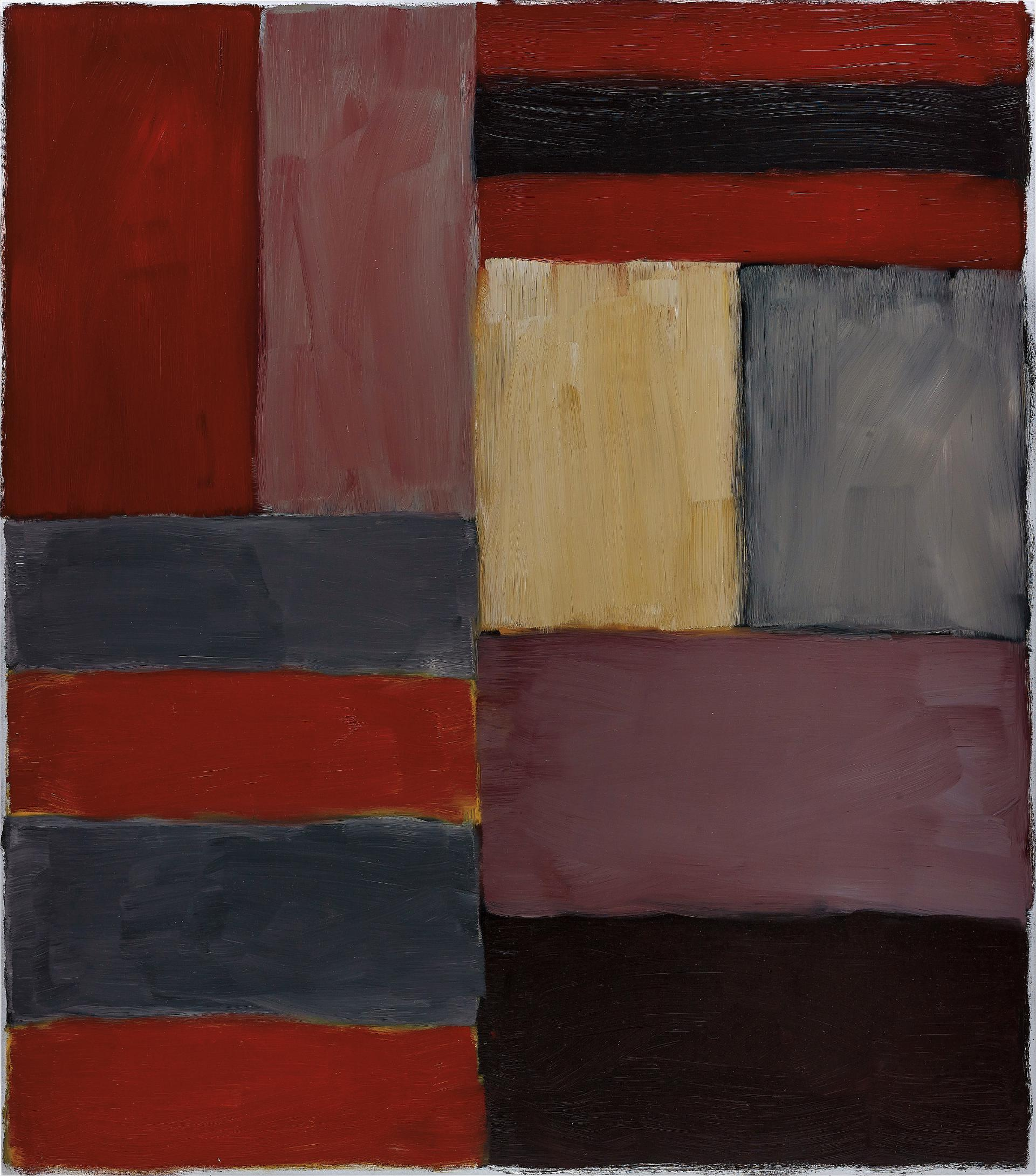 Sean Scully-Grey Red-2012
