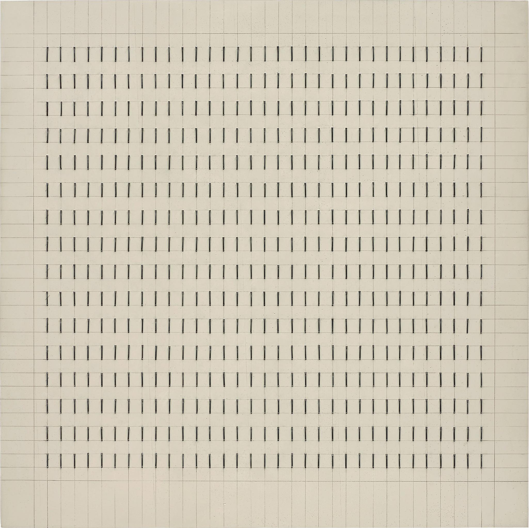 Gunther Uecker-Reihung-1970