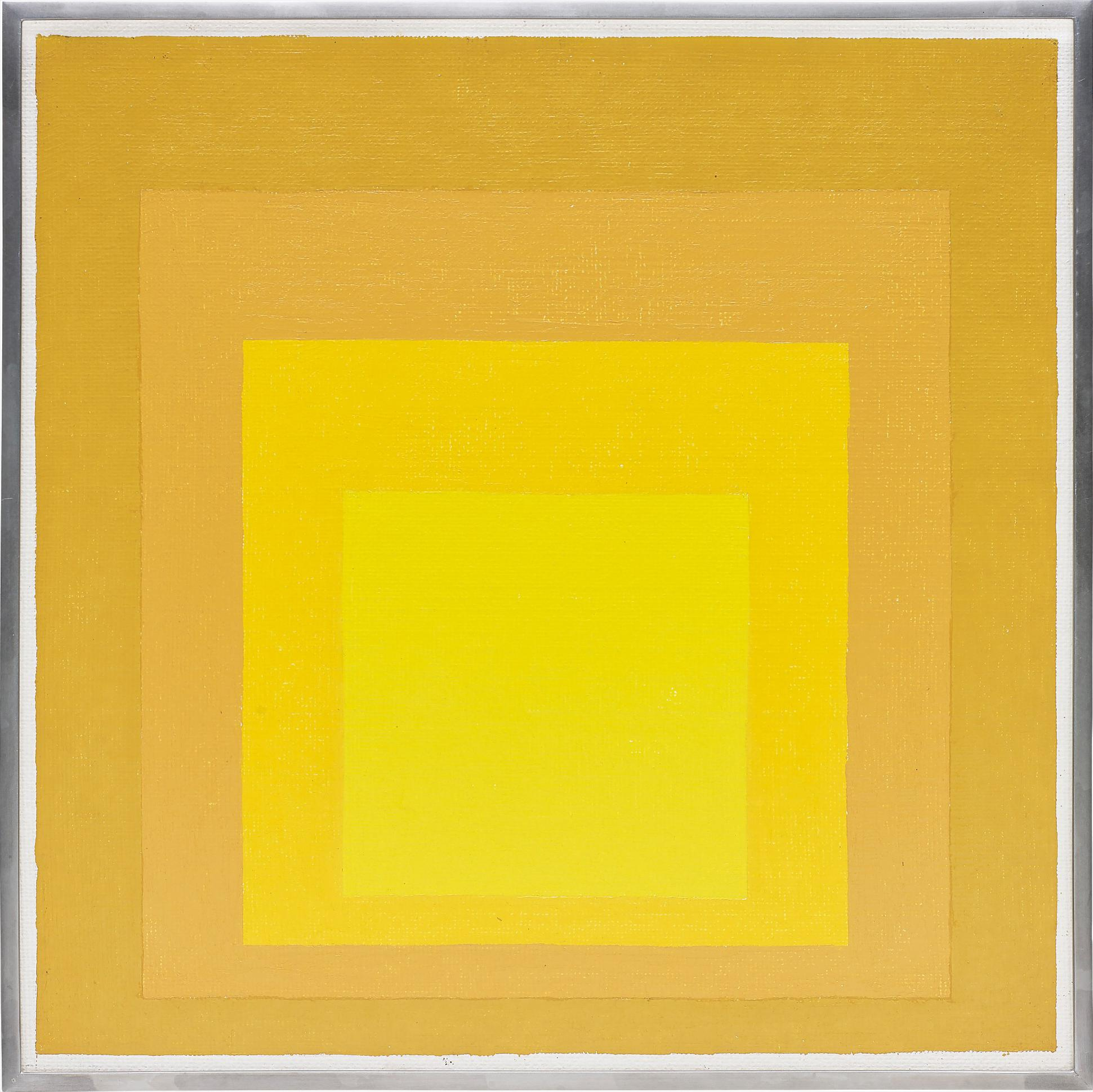 Josef Albers-Homage To The Square-1962