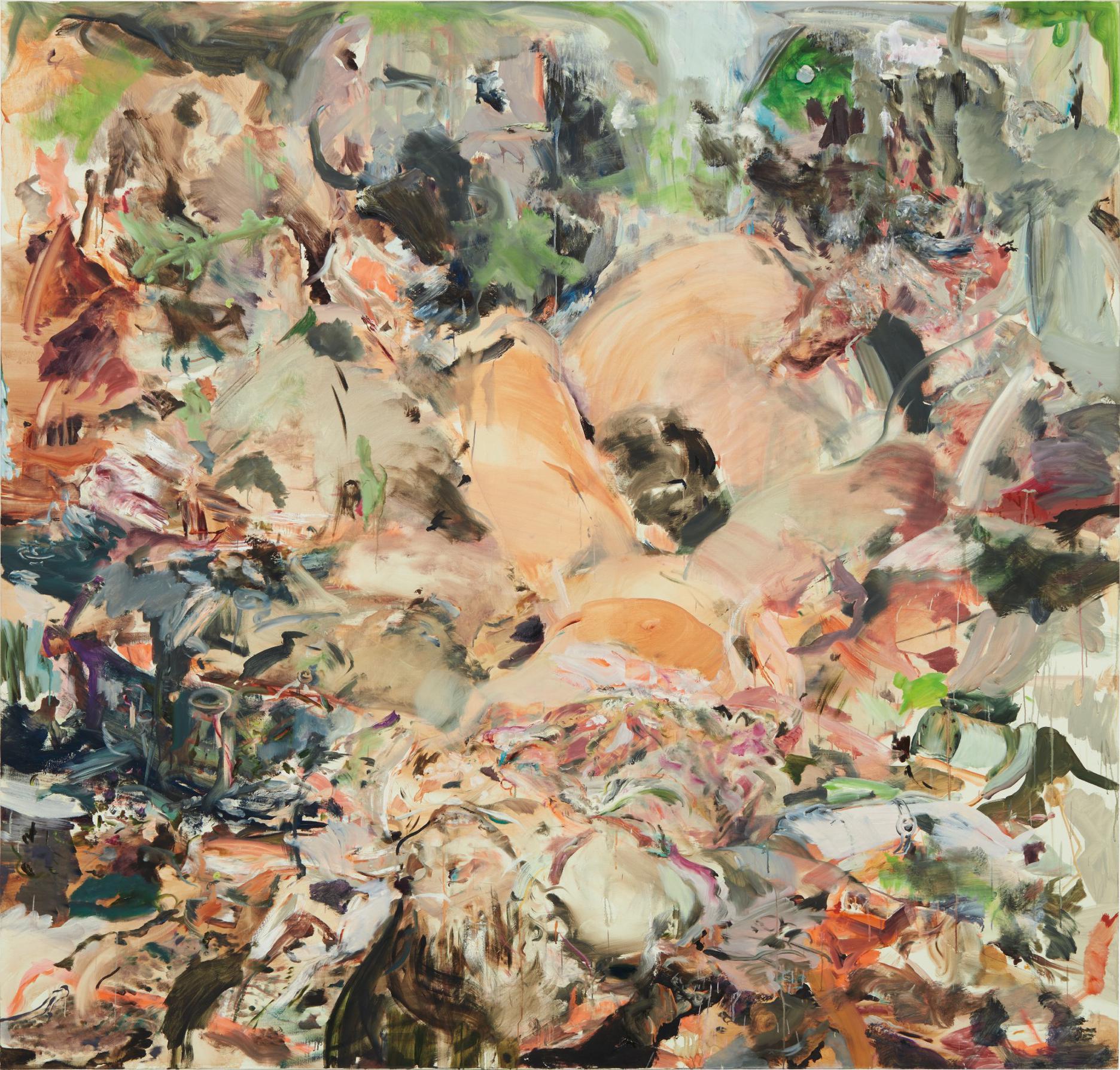 Cecily Brown-Skulldiver II-2006