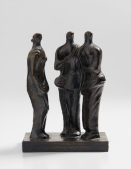 Henry Moore-Three Standing Figures-1945