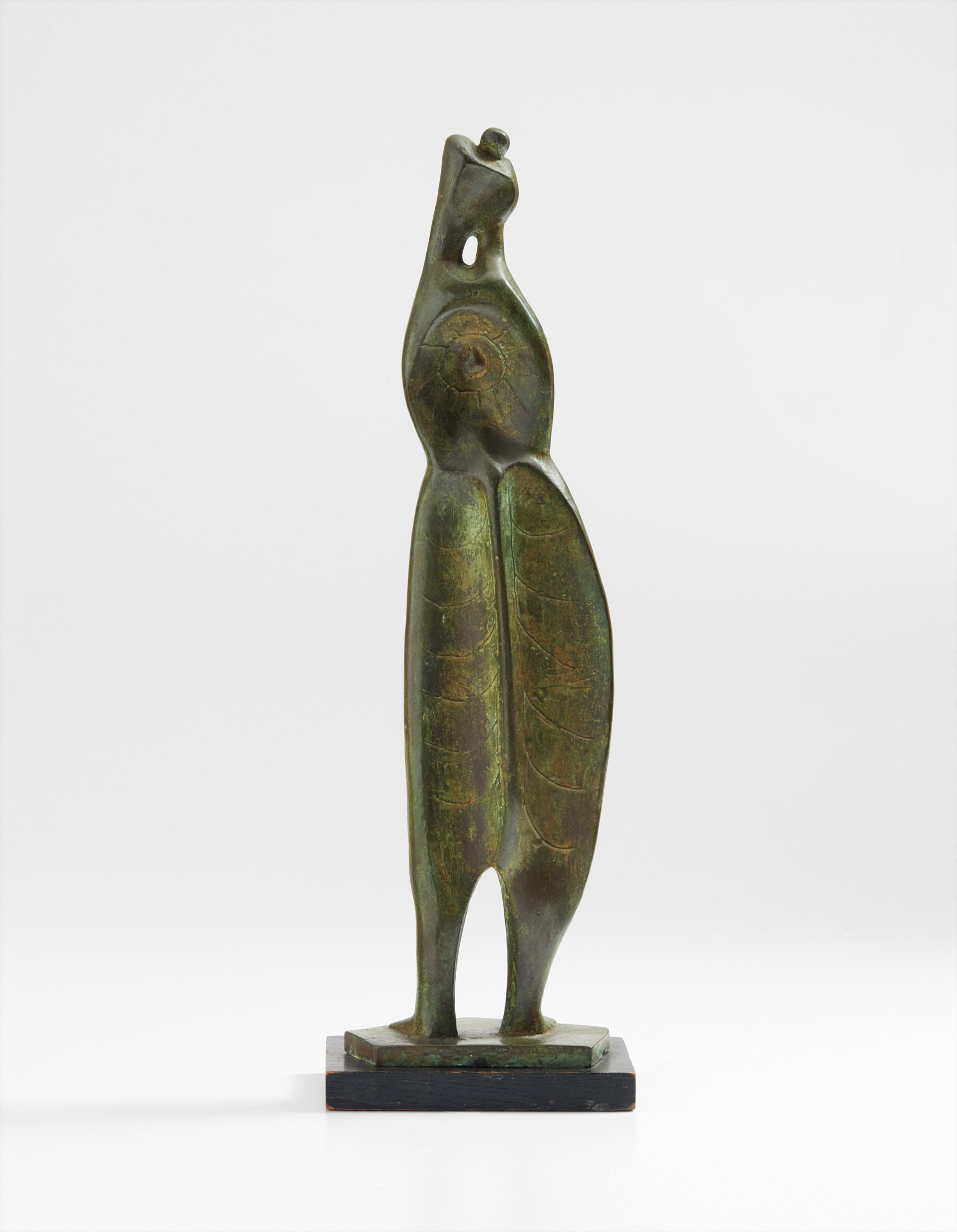 Henry Moore-Leaf Figure No. 3-1952