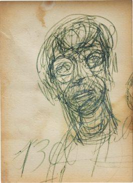 Alberto Giacometti-Tete (Head)-1955