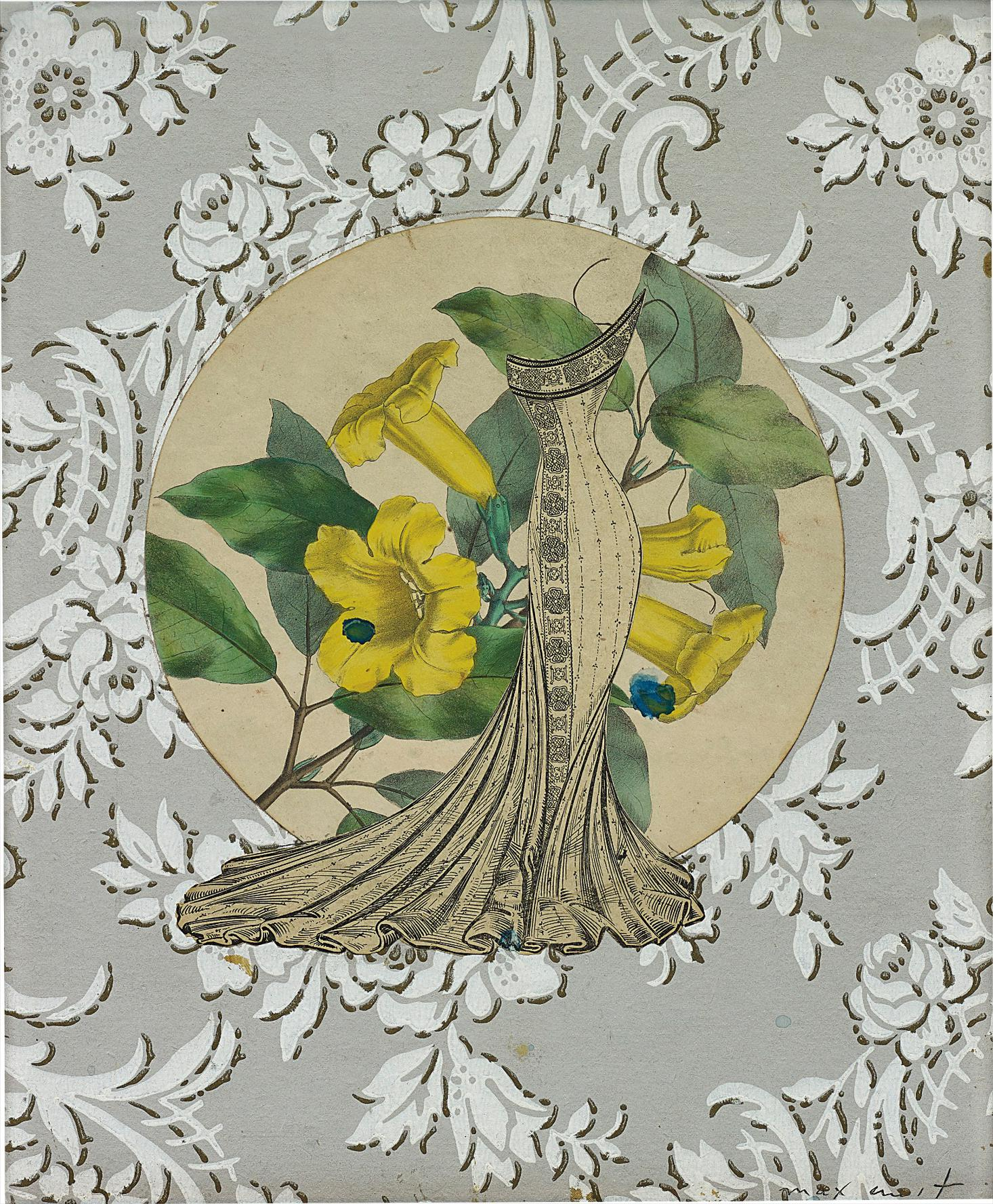 Max Ernst-Portrait De Ma Mere - Souvenir De Jeunesse (Portrait Of My Mother - Remembrance Of Youth)-1968