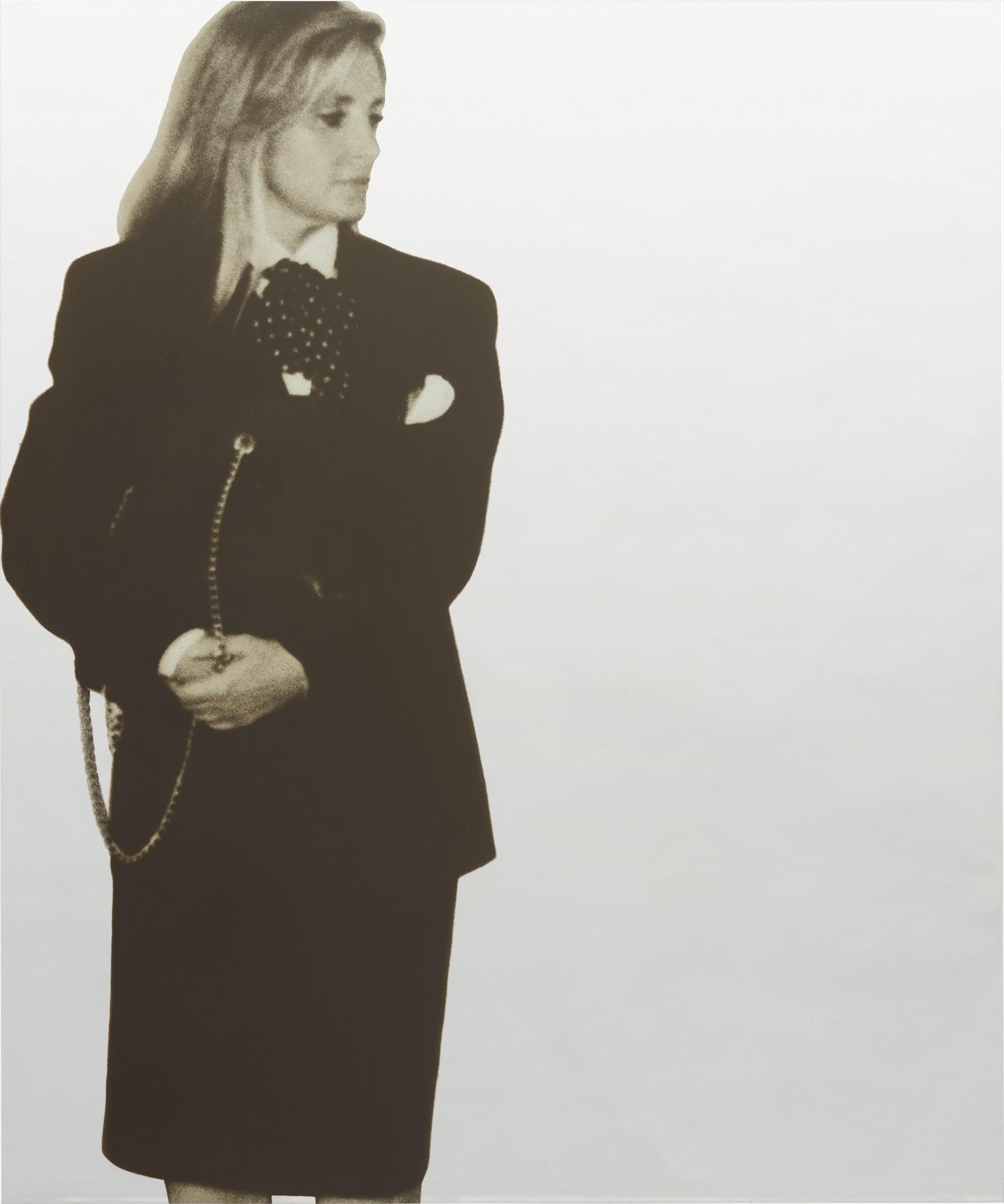 Michelangelo Pistoletto-Gabriella-1987