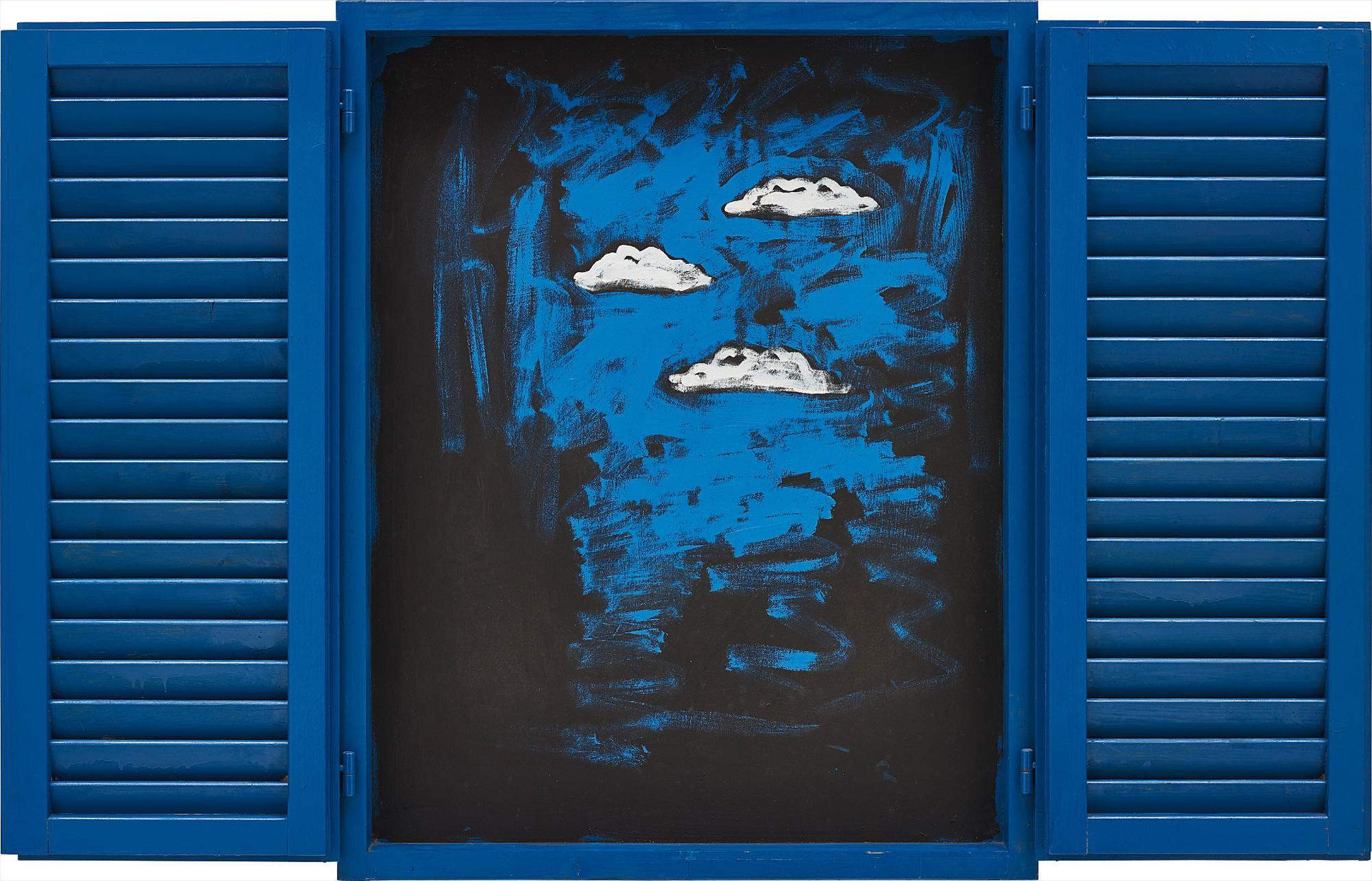 Tano Festa-Finestra (Window)-1985