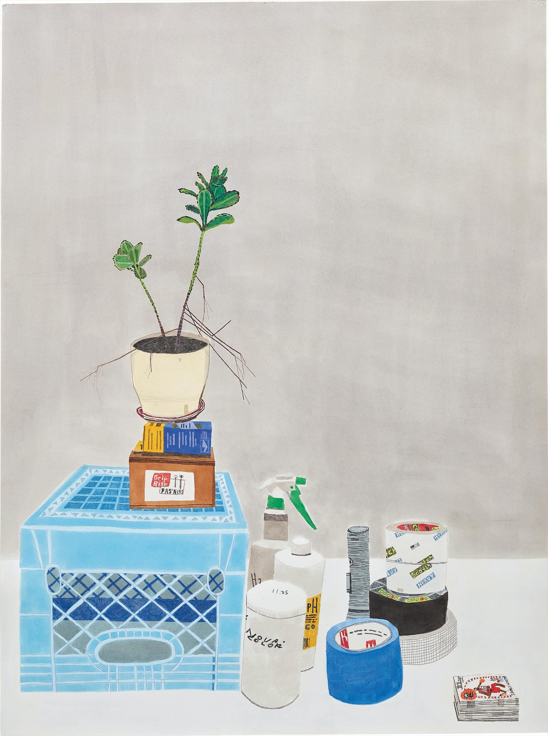 Jonas Wood-Studio Still Life-2012