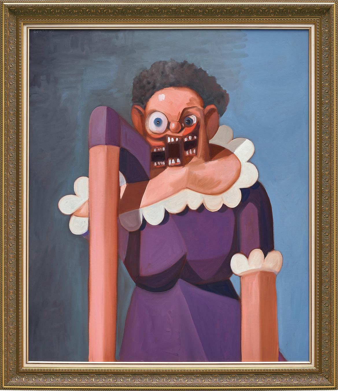 George Condo-French Maid Variation-2005