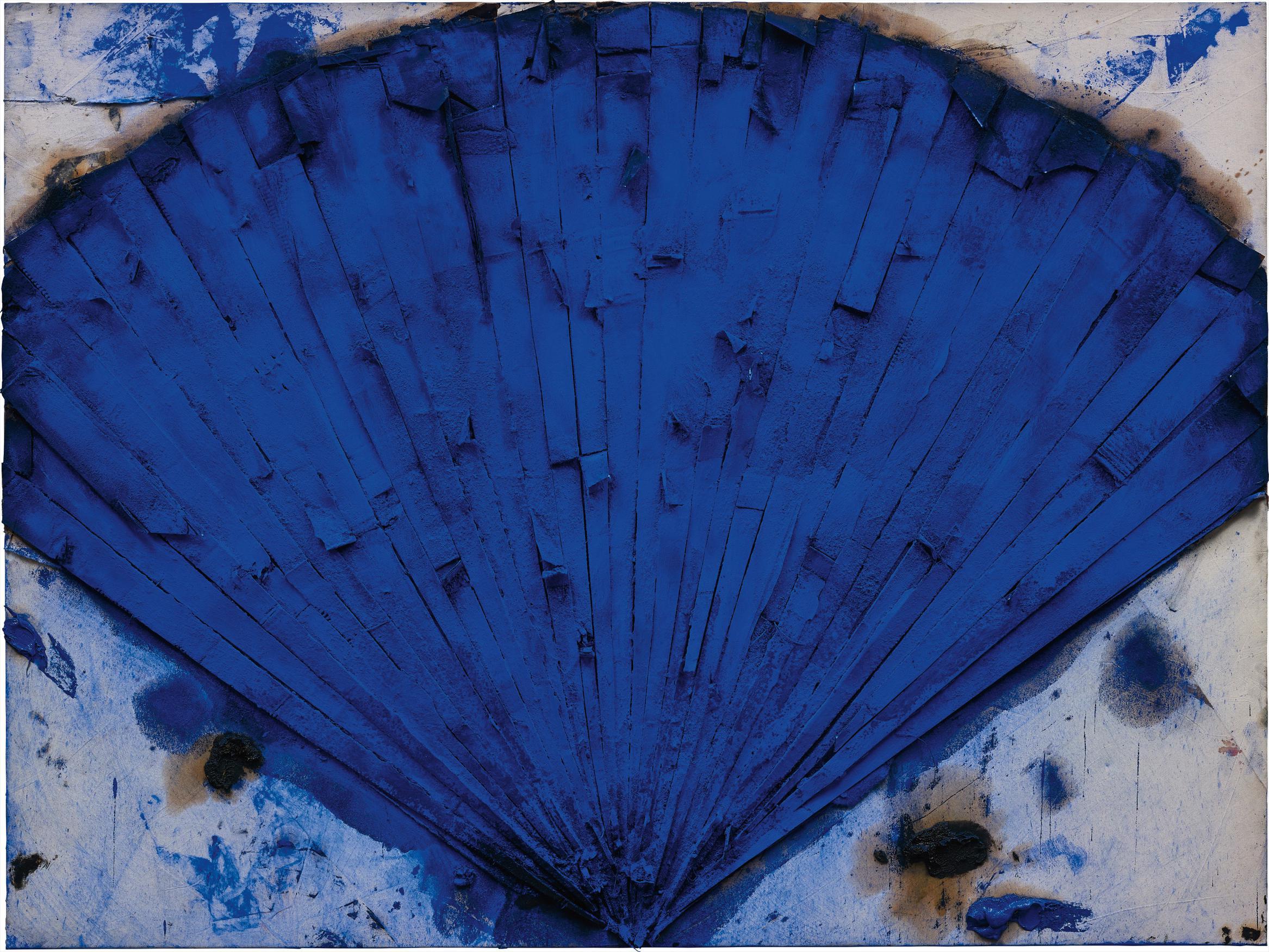 Manolo Valdes-Abanico Azul-2004
