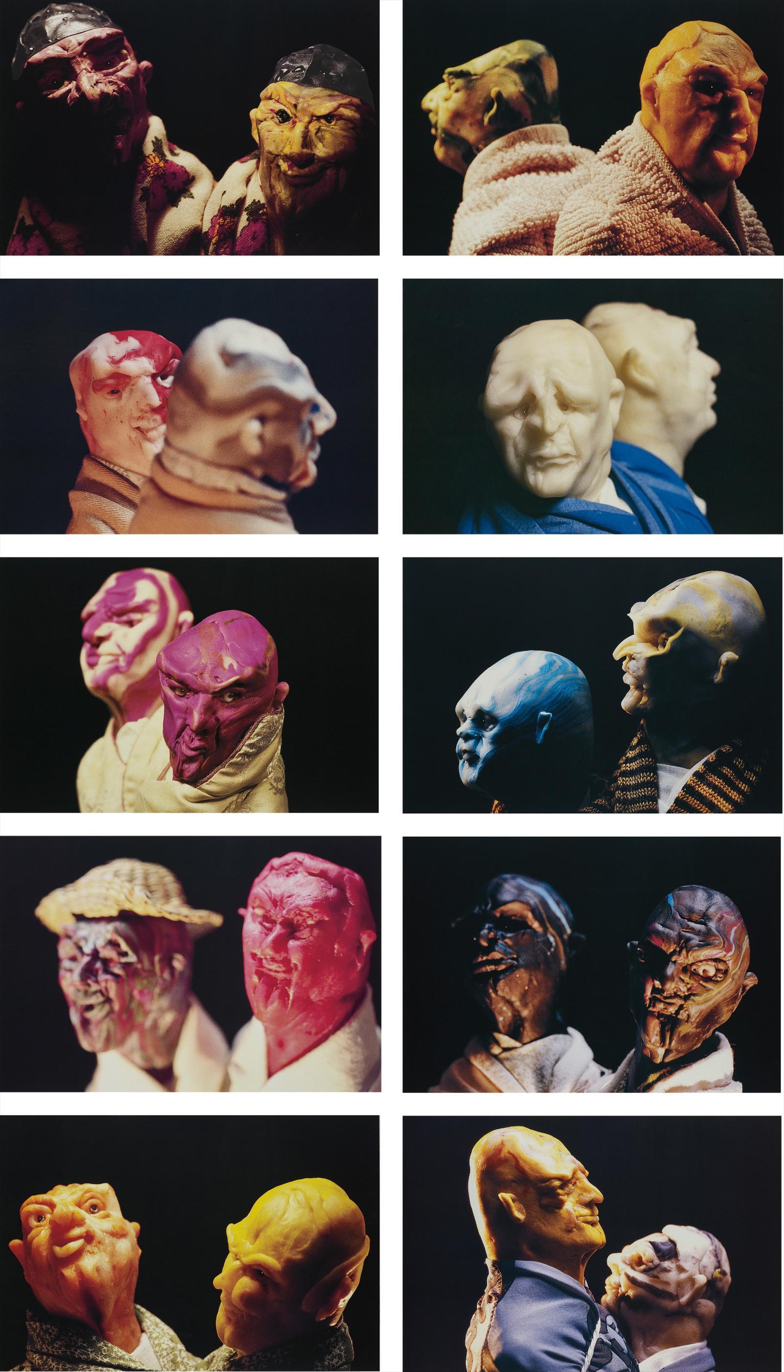 Thomas Schutte-United Enemies (A Play In Ten Scenes)-1994
