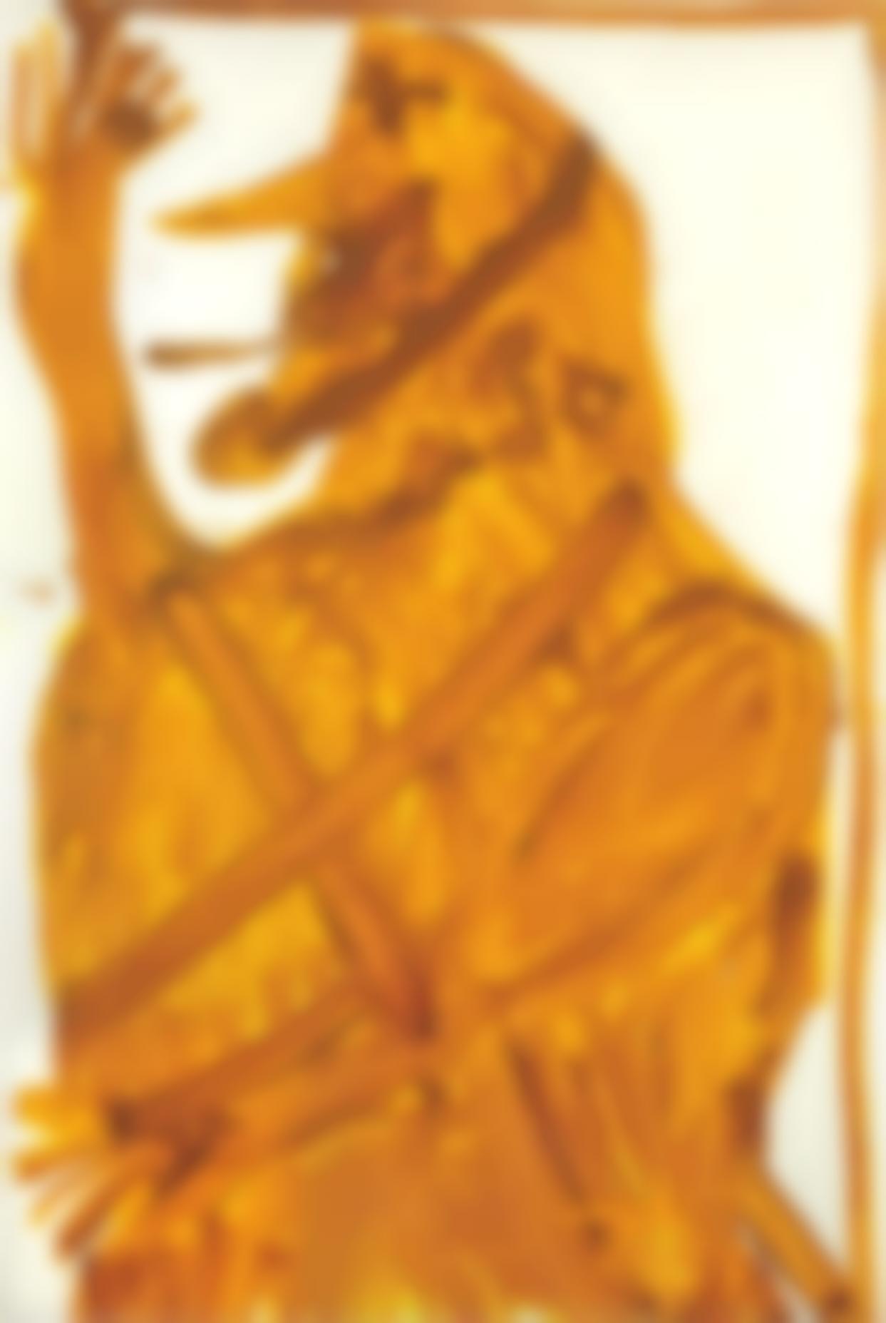 Jonathan Meese-Revolte, 1000 X Keuschheit Goldene Diamantin Die Totalvolkische-2007