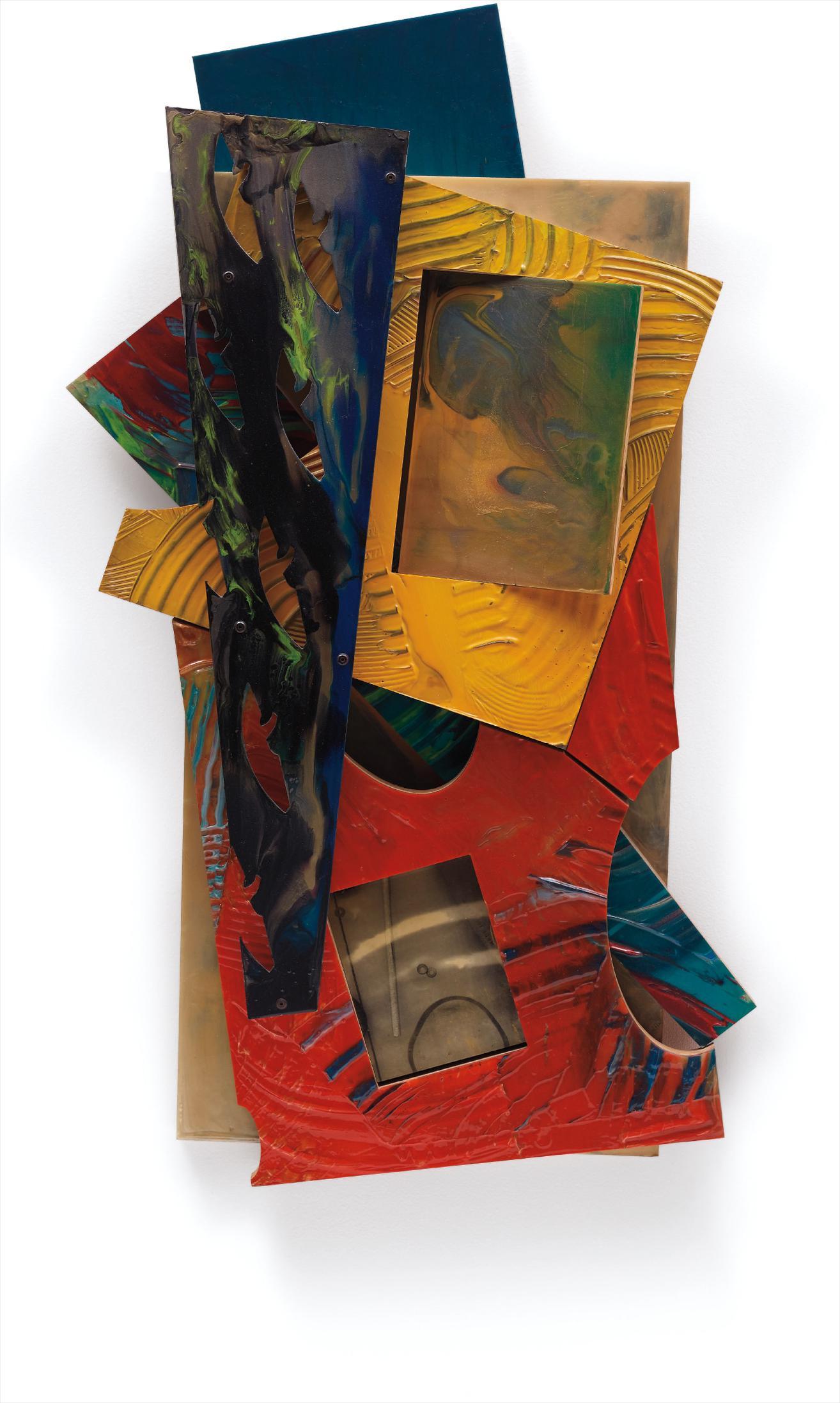 Sam Gilliam-All Colors Stacks-1996