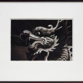 Robert Longo-Study For Dragon-2016