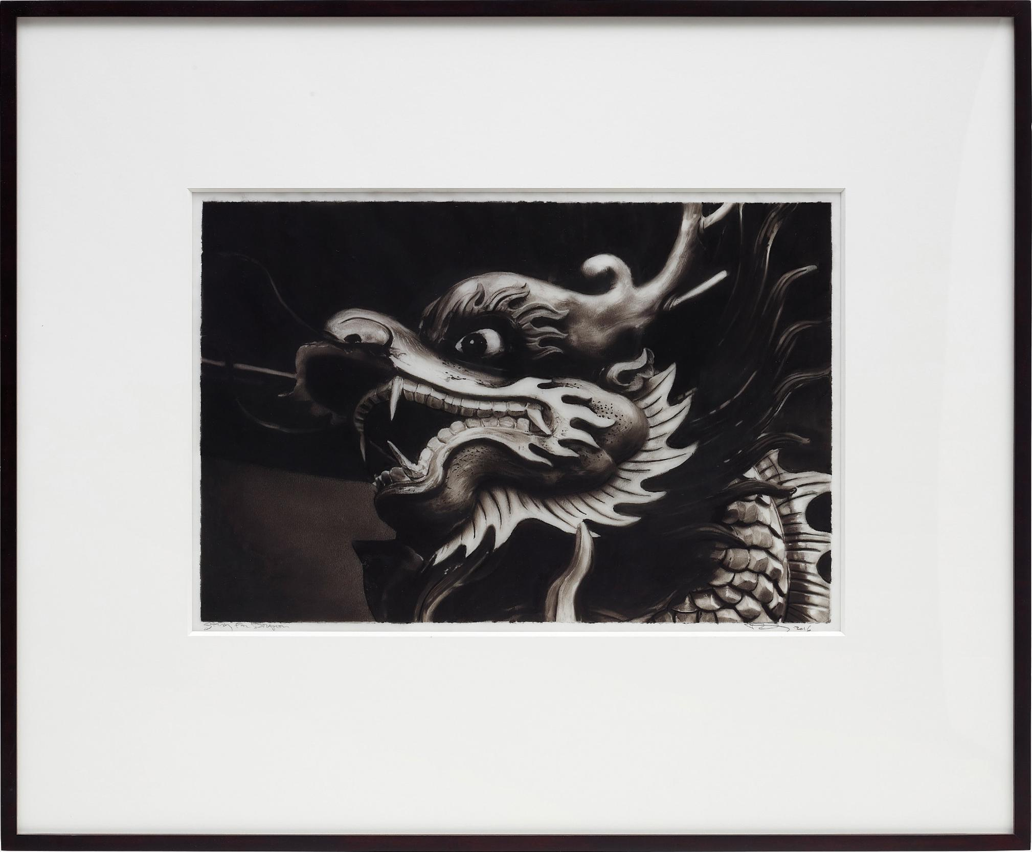 Robert Longo-Study For Dragon-2016