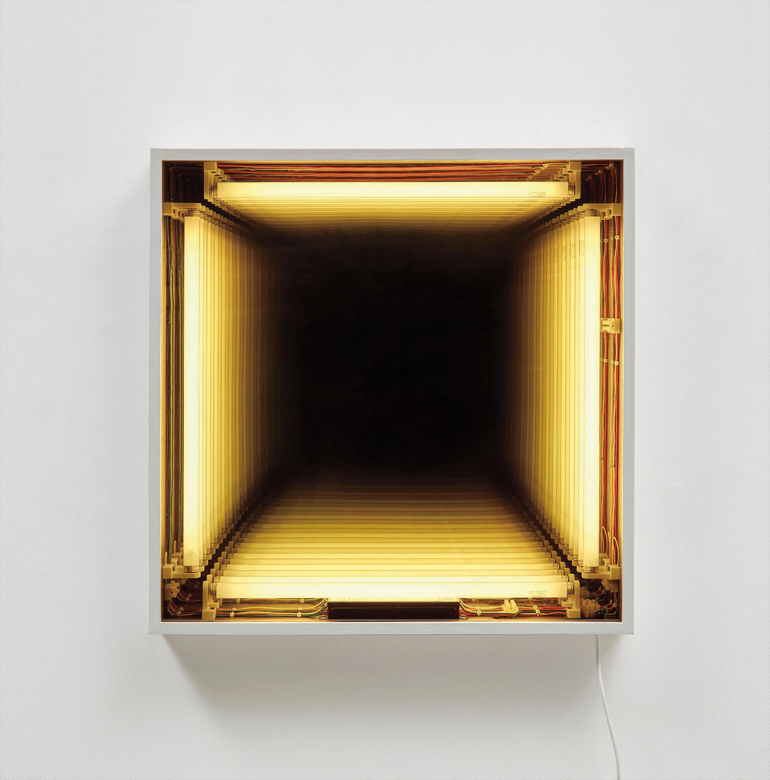 Ivan Navarro-Wall Hole-2004
