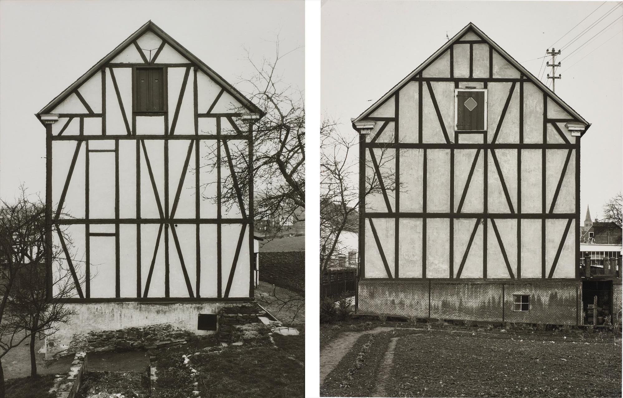 Bernd and Hilla Becher-Fachwerkhauser Des Siegener Industriegebiets-1972