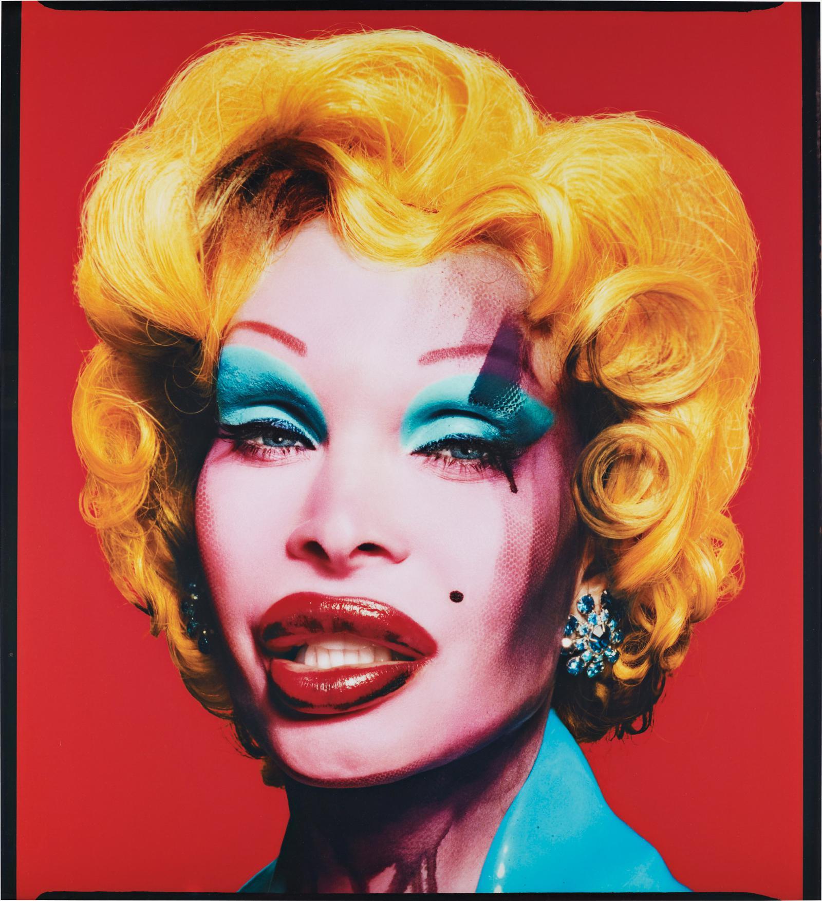 David LaChapelle-Amanda As Marilyn (Red)-2007