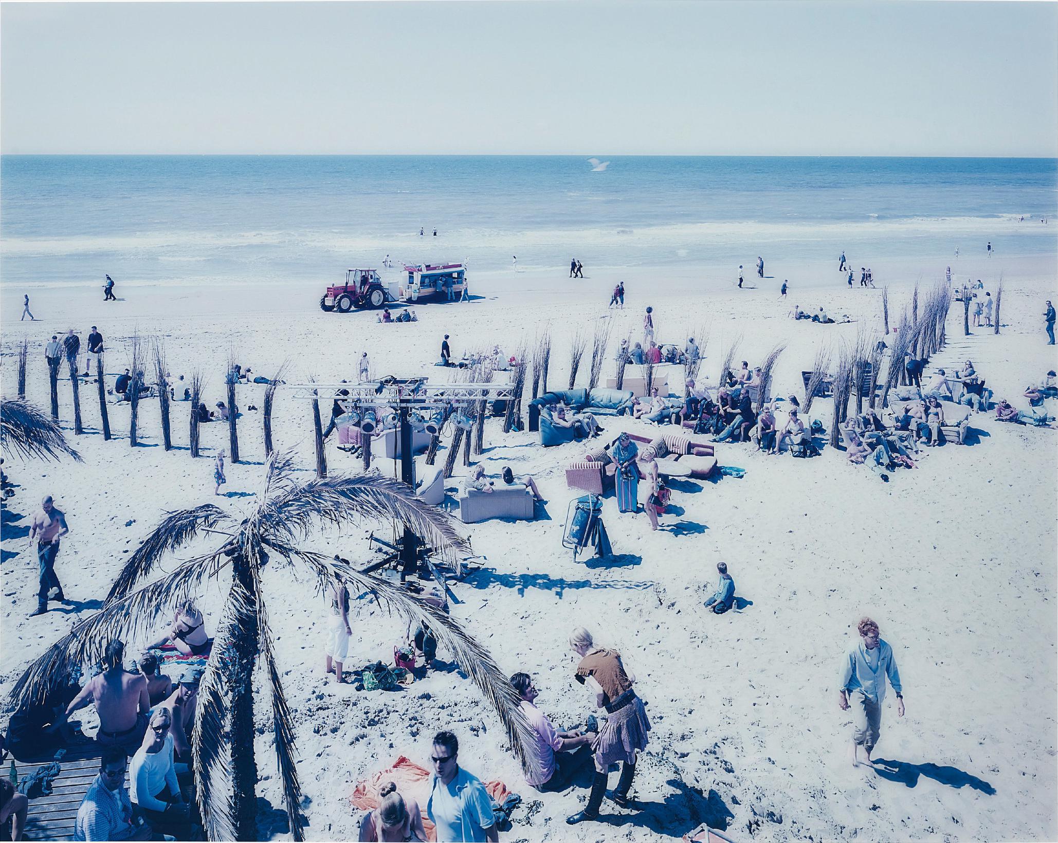 Massimo Vitali-Spiagge Olandesi Bloemendaal-2001