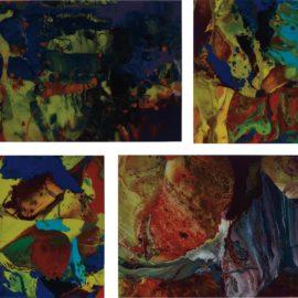 Gerhard Richter-Four Works: (i) Aladin (P10); (ii) Bagdad (P9); (iii) Bagdad (P10); (iv) Ifrit (P8)-2010