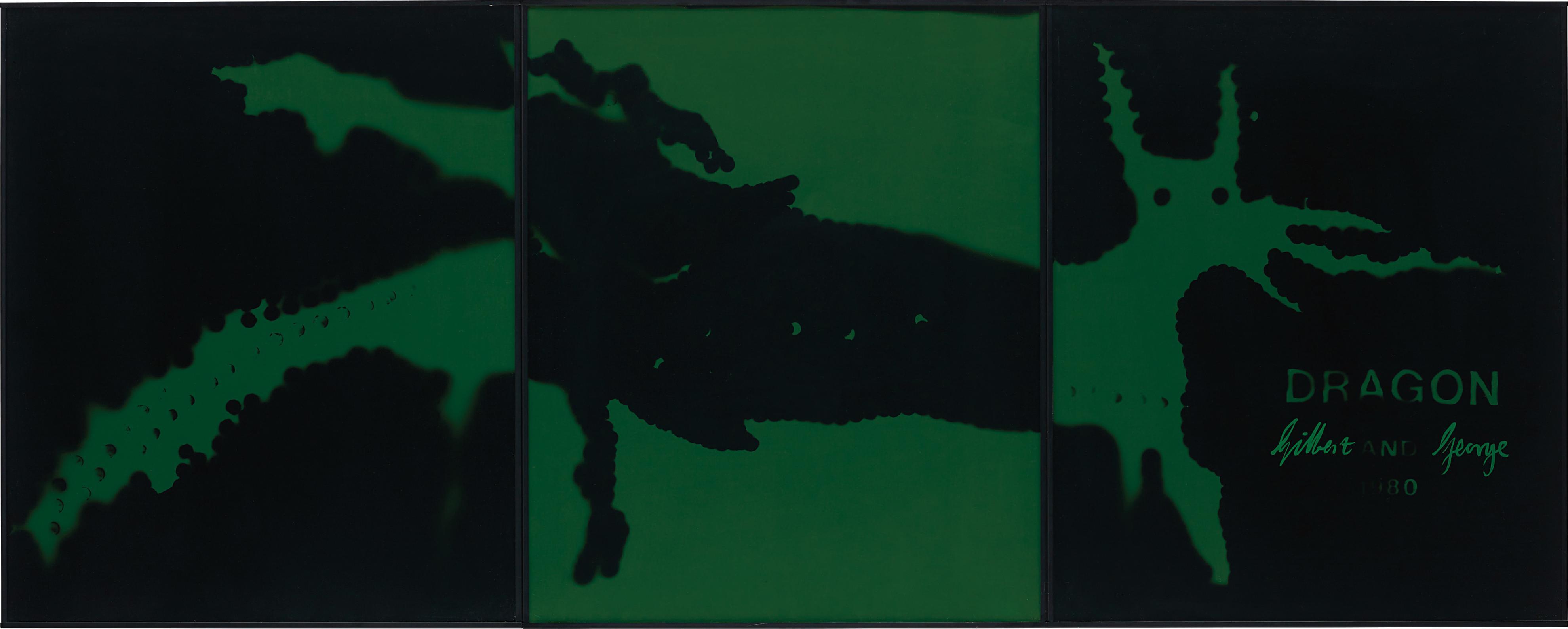 Gilbert and George-Dragon-1980