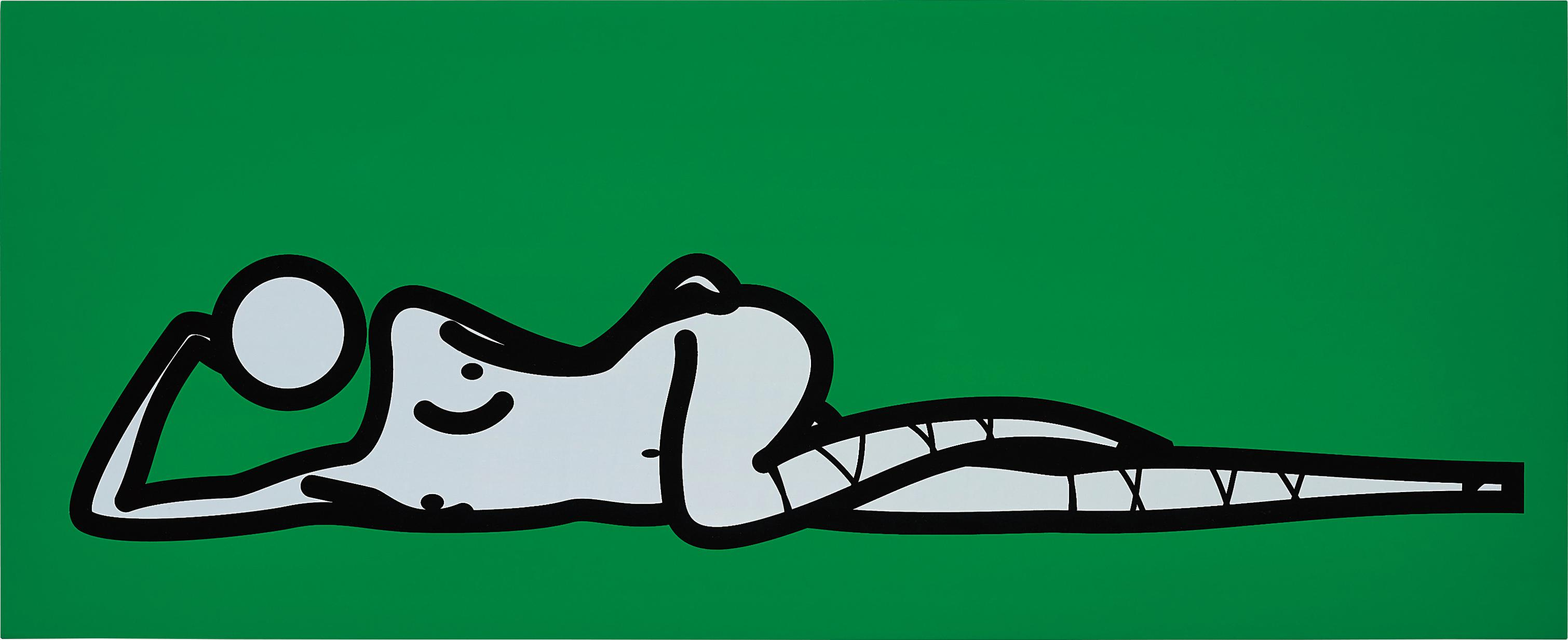 Julian Opie-This Is Shahnoza Horizontal. 06.-2007