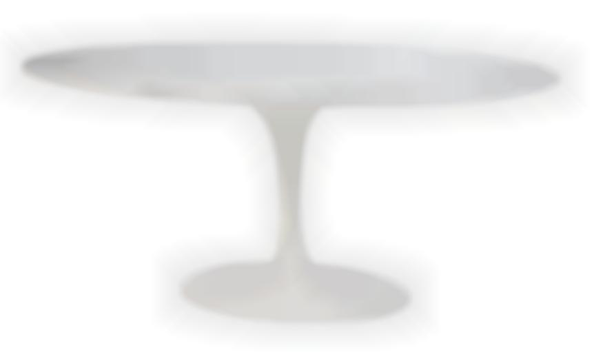 Eero Saarinen - Oval Dining Table; Model no. 174TO-1956