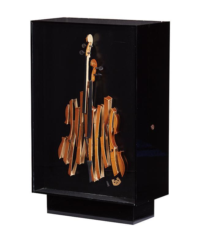 Arman Fernandez -  Violon Flatware (117)-1973