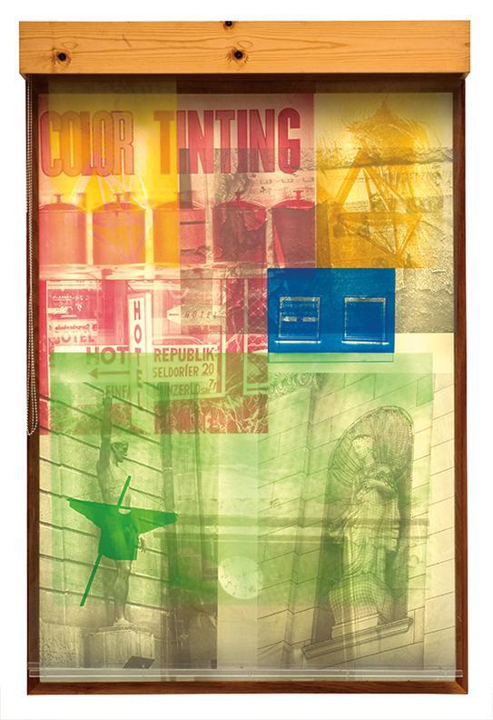 Robert Rauschenberg-Sling-Shots Lit #6-1985