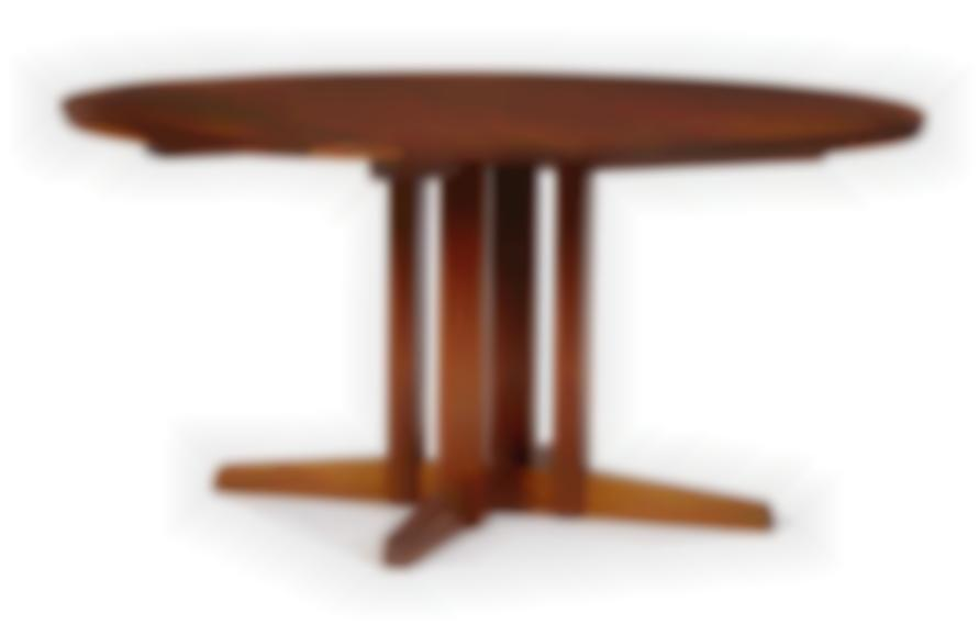 George Nakashima - Dining Table With Clustered Base-1979