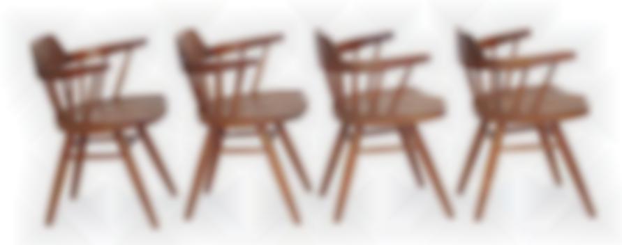 George Nakashima - Dining Chairs (4)-1951
