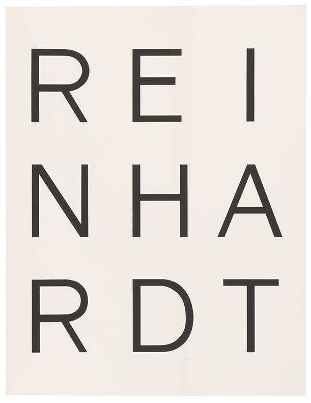 Ad Reinhardt-Ten Screenprints By Ad Reinhardt-1966