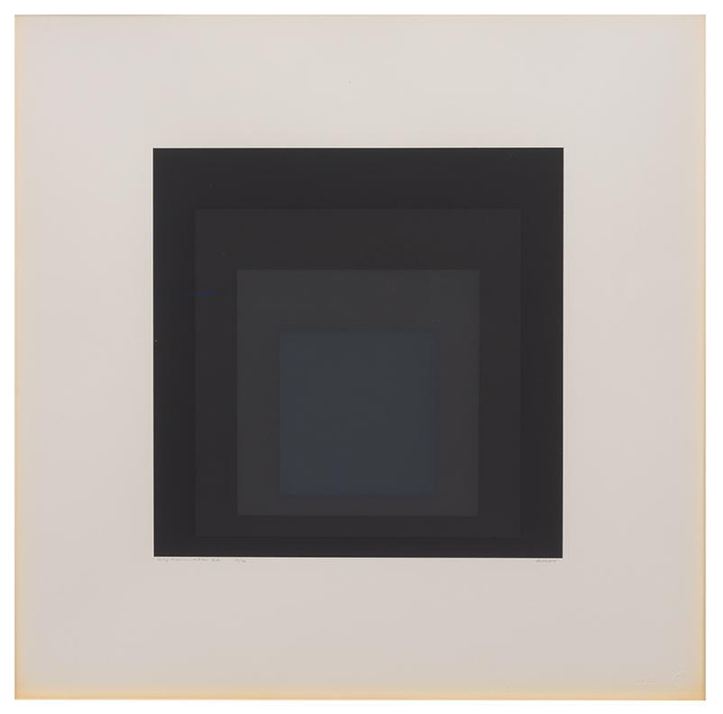 Josef Albers-Gray Instrumentation I (12)-1974