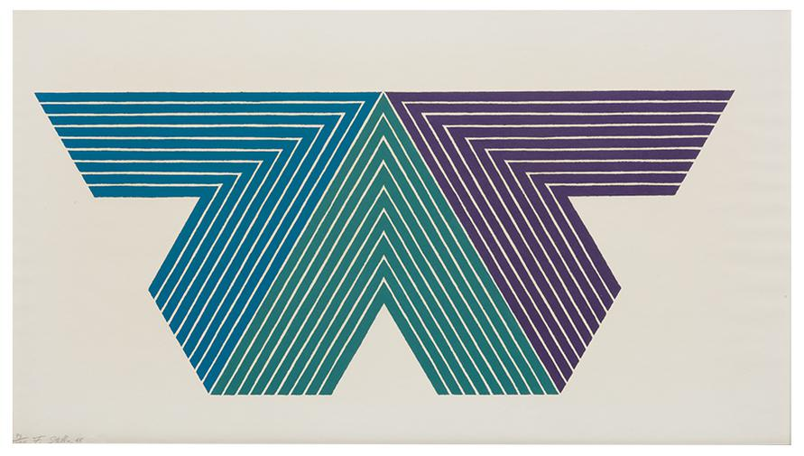 Frank Stella-Black Adder (From V Series)-1968