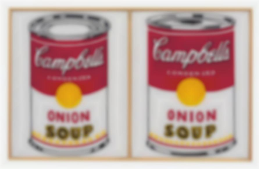 Richard Pettibone-Andy Warhol, Two Campbells Soup Cans, Onion, 1961 And 1962-2006
