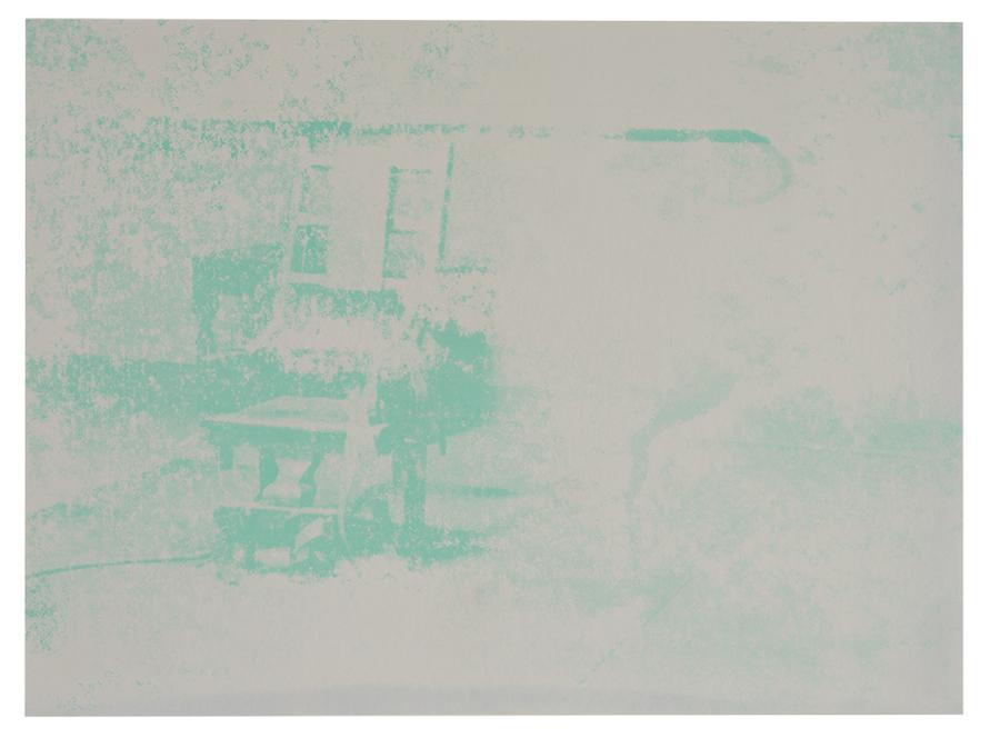 Andy Warhol-Electric Chair-1971