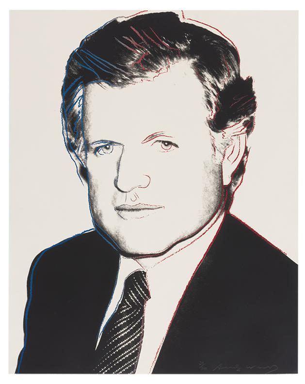 Andy Warhol-Edward Kennedy-1980