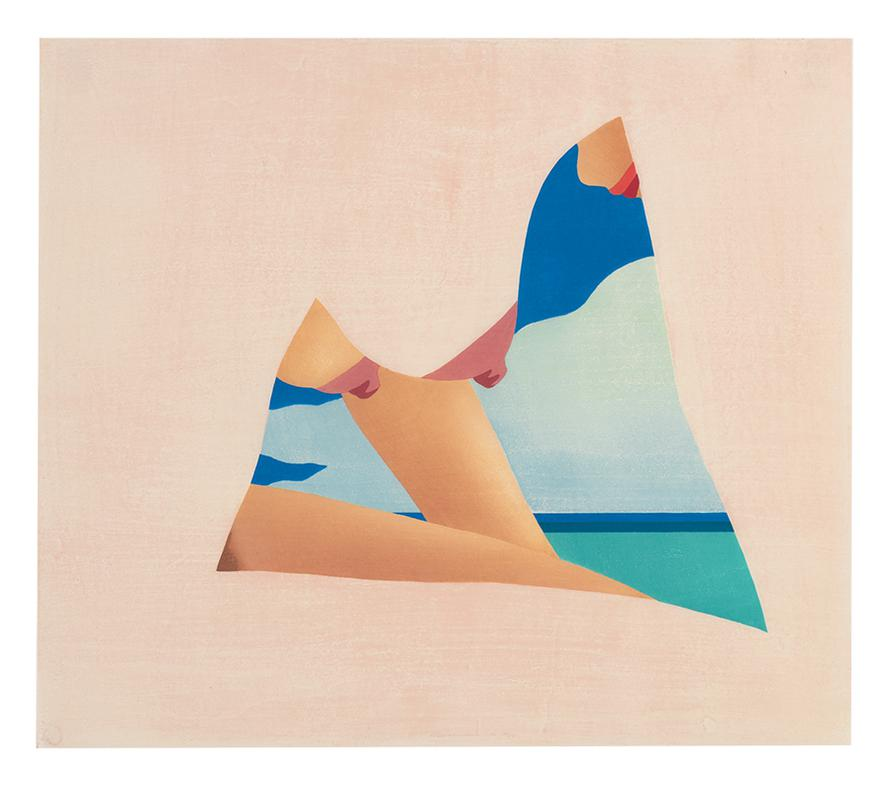 Tom Wesselmann-Seascape Dropout-1982