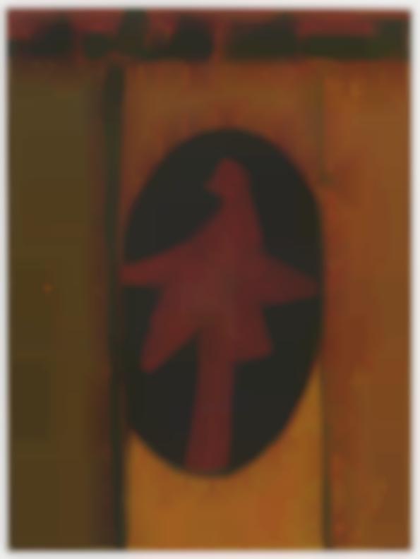 Emerson Woelffer-Bird On Wall-1956