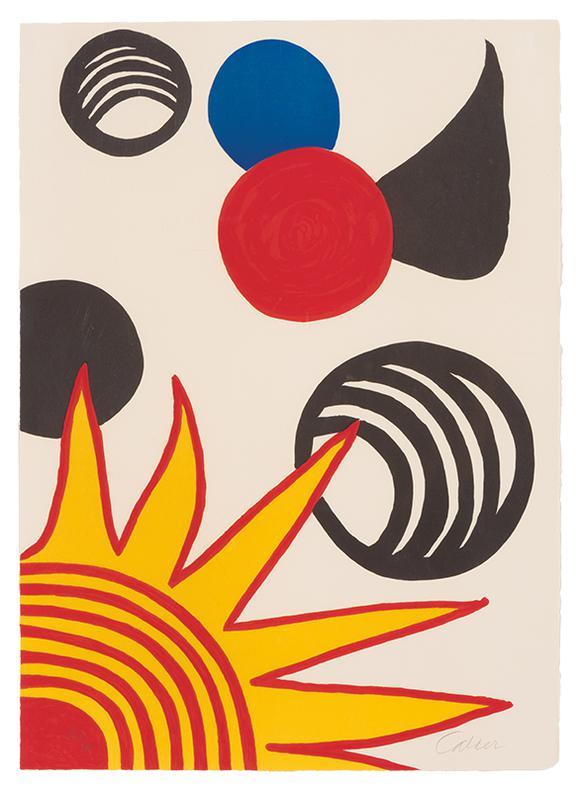 Alexander Calder-Joys of the Neophyte (from La Memoire Elementaire)-1976