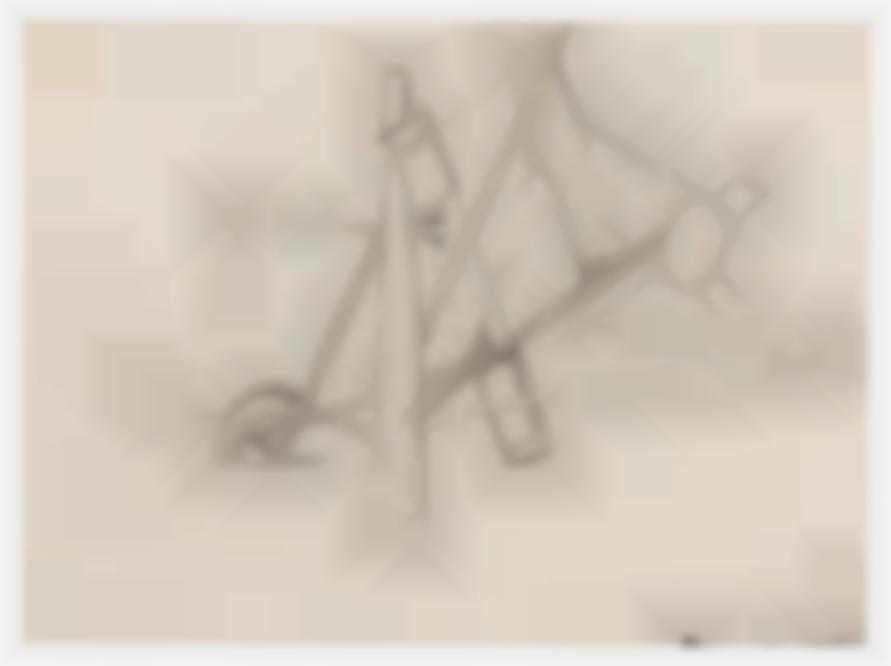 Mark Di Suvero-Untitled #4 (Drawing For Nova Albion)-1965
