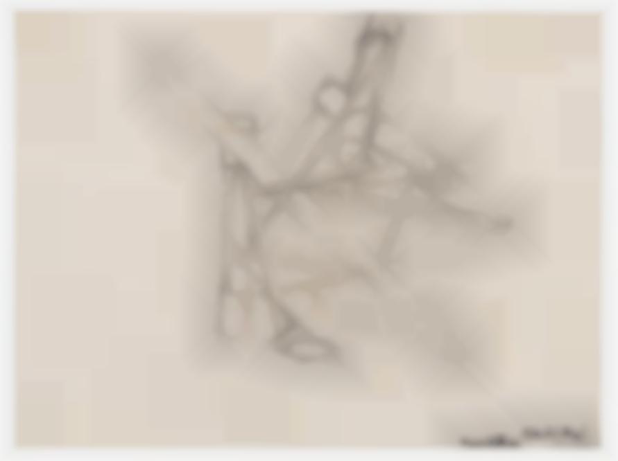 Mark Di Suvero-Untitled #1 (Drawing For Nova Albion)-1965
