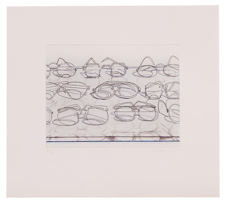 Wayne Thiebaud-Eyeglasses-1994