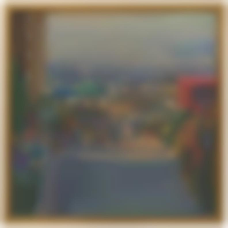 Larry Cohen-View From San Vicente Blvd. Study-1991