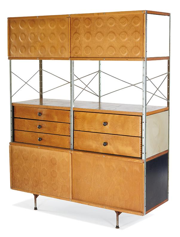 Charles & Ray Eames -  Storage Unit; Model no. ESU 420-N; Herman Miller-1950