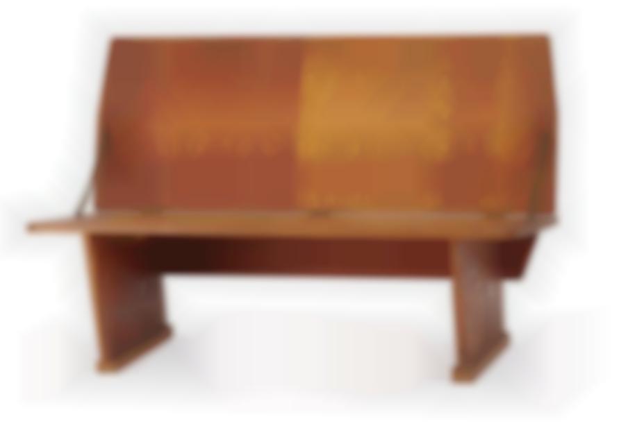 Frank Lloyd Wright-Double High Bench-1951