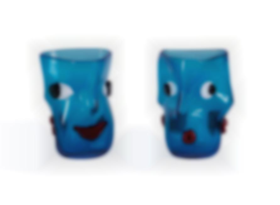 Fulvio Bianconi - Face Vases (2)-1950