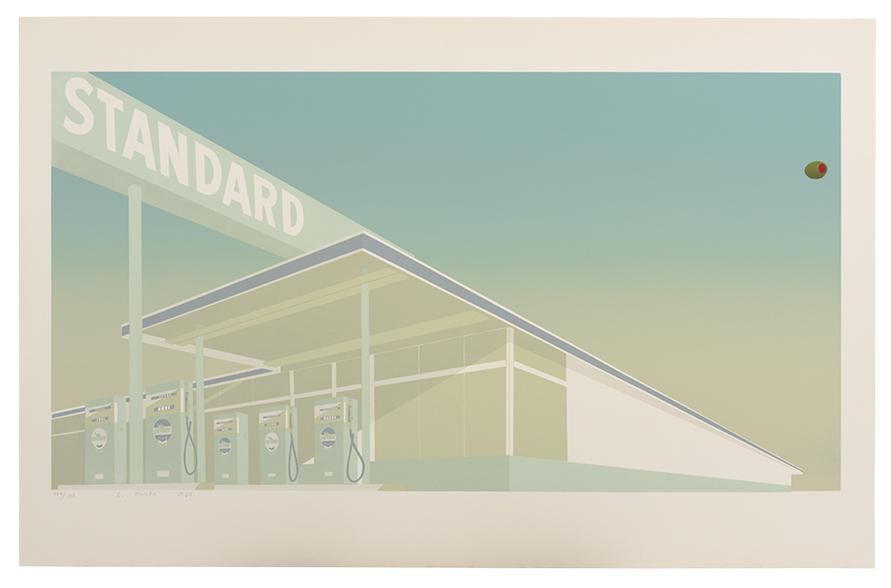 Ed Ruscha-Cheese Mold Standard With Olive-1969