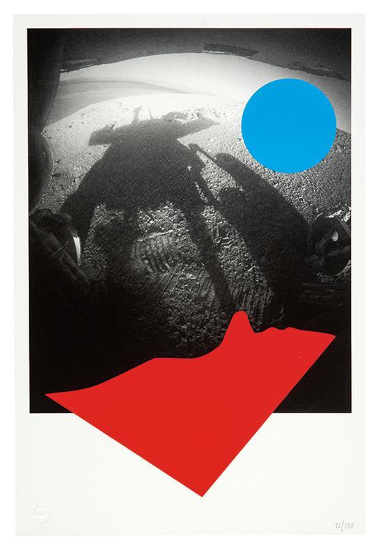 John Baldessari-Visionaire 64 Art Portfolio Platinum-2014