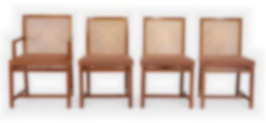 Michael Taylor - Dining Chairs (8); Model no. 2876-1970